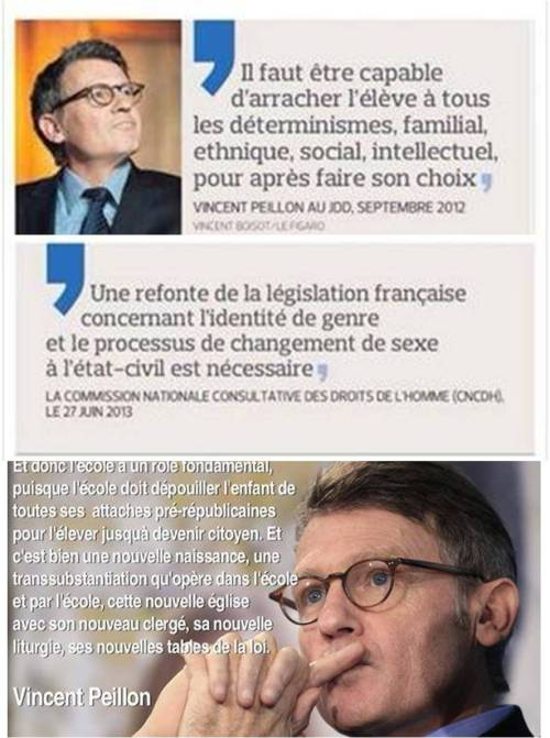 Vincent Peillon - ministre de l education 2012-2014
