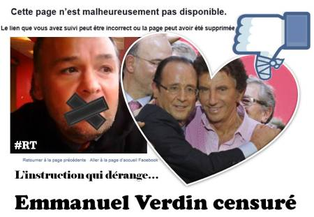 Affaire Emmanuel Verdin censurée