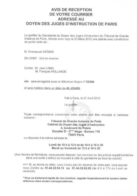 plainte_contre_lang_hollande_num_12-244_TGI_Paris